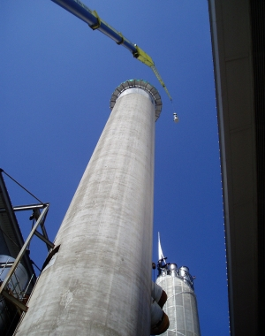 Industrial Chimney Demolition & Dismantling: Image 1